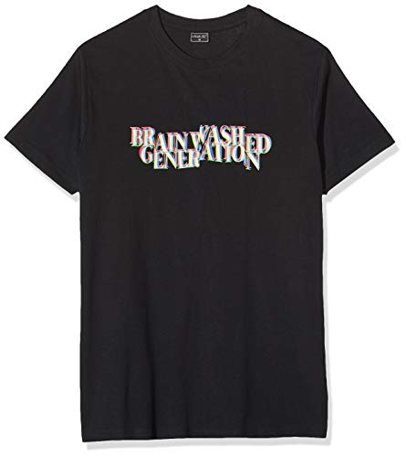 Mister Tee Herren Brainwashed Generation Tee T-Shirt, Black, M