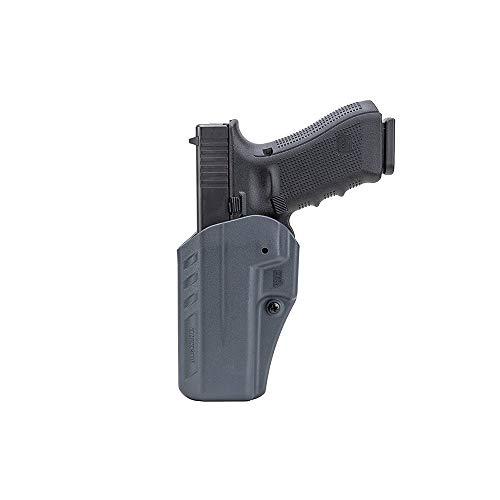 BLACKHAWK Appendix Reversible Carry Inside the Pants Fits Glock 19/23/32 Ambidextrous Holster, Urban Gray