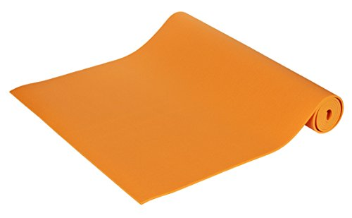 Yogabox Yogamatte Premium 200 x 60 x 0,3 cm Made in Germany, orange