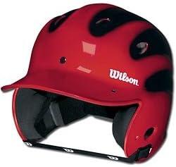 Wilson Tulsa Mall Slick Excellence Two-Tone Batting Youth EA Helmet -