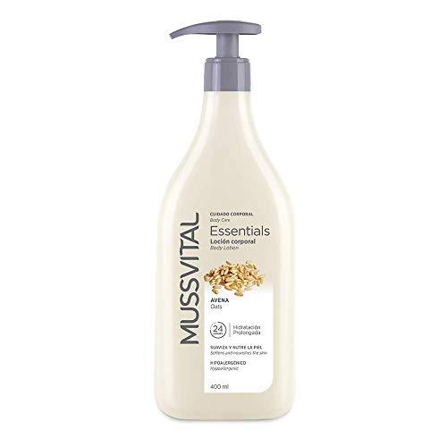 Mussvital Essentials Loción Hidratante Avena 400 ML