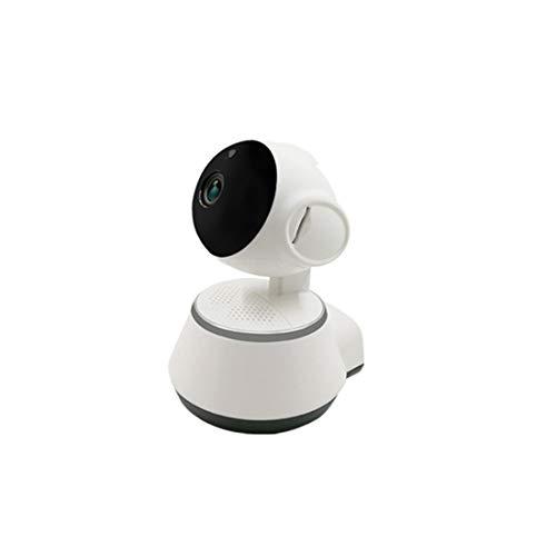 Whhhherr Cámara IP WiFi de seguridad for el hogar HD H.265 - Bebé, monitor for mascotas - Cámara de vigilancia inteligente for interiores con visión nocturna, audio bidireccional, sensor de movimiento