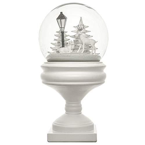 mamoki XXL Winterkugel | hochwertige Schneekugel 29 cm Höhe | Designed in Berlin | Modern Neuheit einzigartiges Geschenk