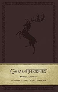 Game of Thrones( House Baratheon Hardcover Ruled Journal)[JOURNAL-GAME OF THRONES-BARATH][Imitation Leather]