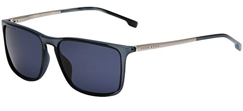 Hugo Boss Boss 1182/S, Gafas de Sol Hombre, Azul, 57