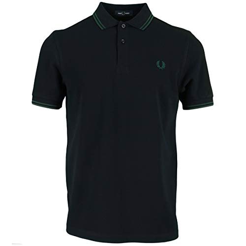 Fred Perry Herren M3600 Polohemd, Navy, XL