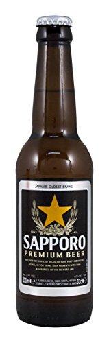 Japanisches Sapporo Bier Premium Lager alc. 4,7% vol. 330 ml