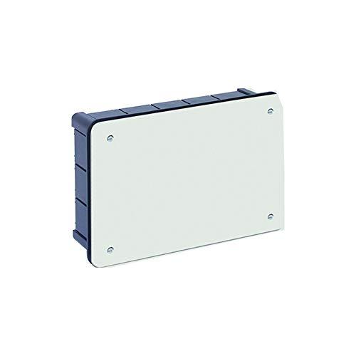 Solera 314 - Caja empalme y derivación.Con tapa con tornillos. De 200x130x60. 20 entradas para tubo Ø 32.