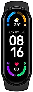 For Xiaomi Mi Band 6 Activity Tracker High-Res 1.56 inches AMOLED Screen, SpO2 Monitor, 30 Sports Modes, 24HR Heart Rate a...