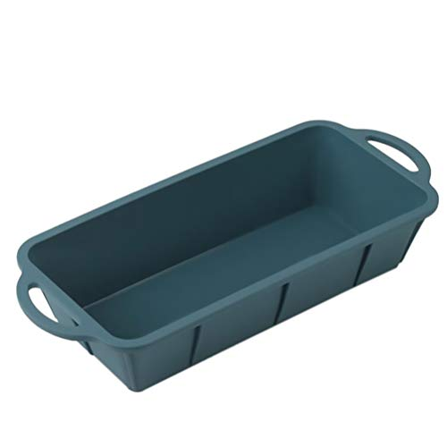 FRCOLOR Silicone Loaf Baking Mold, Rectangular Toast Pan Silicone Loaf Pan Multi- Function Bread Baking Pan for Oven