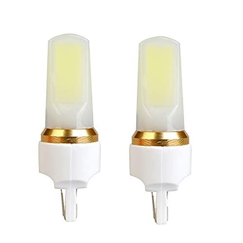 lxxiulirzeu 2PCS 1400LM T20 W21W LED W21 / 5W LED Coche de Freno de Coche WY21W 7440 7443 Bombilla LED T25 3157 3156 P27 / 7W Lámpara de señal de Giro inversa 12V