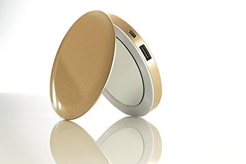 Pearl Power Bank Hyper Mirror USB 3000mAh złoty