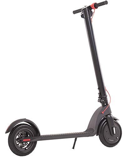 MES Elektrische step, 250 W, opvouwbaar, oplaadbare accu in het stuur, achterlicht en vooraan, multifunctioneel led-display, wielen: 8,5 inch