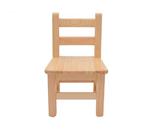 Tabouret en bois Chaise pour enfants Chaise d'étudiant en bois massif/chaise de loisirs/bébé chaise d'apprentissage (Couleur : B)
