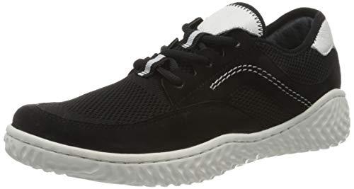Gabor Damen Jollys 43.381 Sneaker, Schwarz (Schwarz/Weiss 17), 36 EU