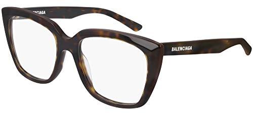Balenciaga Occhiali da Vista BB0062O HAVANA 53/18/140 donna