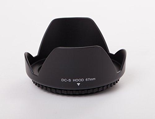 vhbw Gegenlichtblende passend für Sony FE 24-70 mm 4 Vario-Tessar T* ZA OSS (SEL-2470Z), Objektiv - Kunststoff Streulichtblende schwarz 67mm
