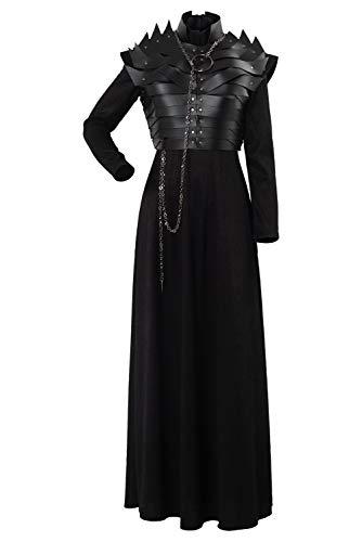 Enhopty Thrones Season 8 S8 E2 Sansa Stark - Disfraz para mujer (talla L)