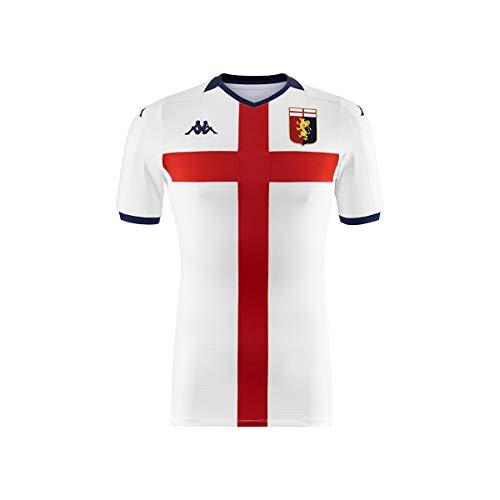 Kappa 2019-2020 Genoa Third Football Soccer T-Shirt Maglia