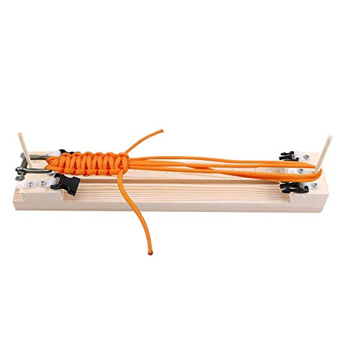 DIY Pulsera Paracord Jig - Herramienta Fabricante de Paracord Pulsera Hebillas Trenzado de Cuerdas ( 0 - 12pulgadas )