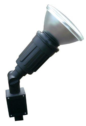 Spot à piquer simple E27 PAR38-80 watts - câble HO5RN-F 2x 1mm² - Longueur 1m