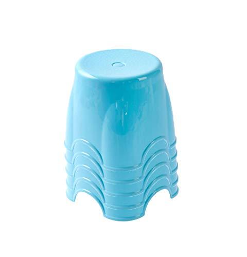 1yess Banco pequeño de plástico Grueso, Banco de Zapatos para niños pequeños a Prueba de Agua en la Entrada del hogar Taburete para niños 20 * 22 cm Shoebox (Color: púrpura, Tamaño: 20 * 22 cm)