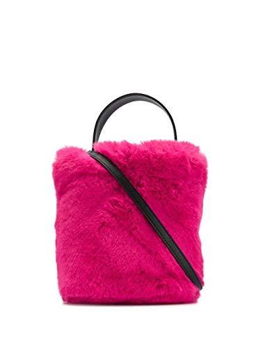 KARL LAGERFELD Luxury Fashion Donna 200W3014A512 Fucsia Ecopelle Borsa A Mano | Primavera-estate 20