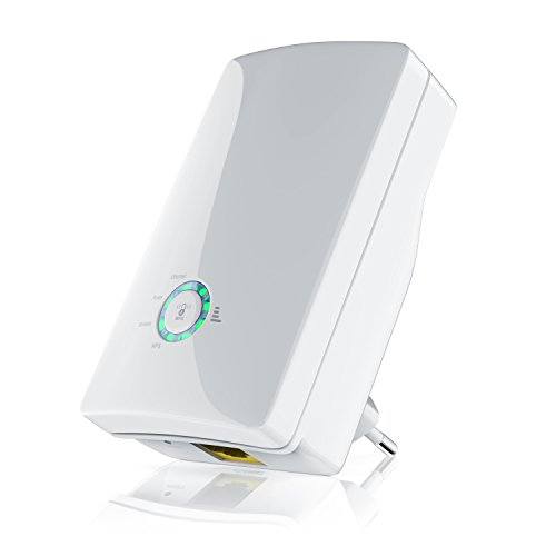 CSL - AC750 Dualband WLAN Repeater | Neues Modell / Neue Firmware | 3x Betriebsmodi (Repeater, Router) | 2,4 GHz + 5 GHz Dual Band | 802.11 a/b/g/n/ac | WPA2, WPA und WEP | Reset + WPS-Taste
