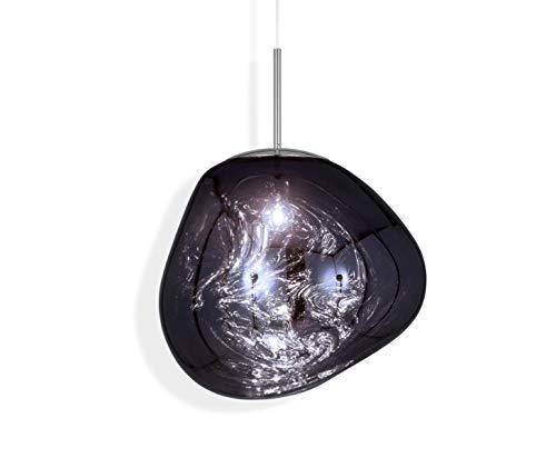 Tom Dixon – Lampada a sospensione, lampada a sospensione – Melt Pendant Smoke EU – Ø48 x H32 cm