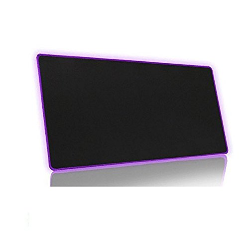 23'x12' Functional Large Mouse Pads Non-Slip Rubber Base Official Mouse Pad Game Mouse Pad Gaming Mouse Mat (Purple)