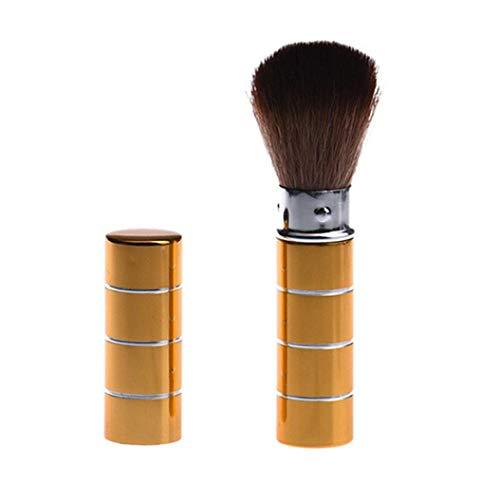 MuSheng(TM) 1pc pinceau de maquillage cosmétique (Or)
