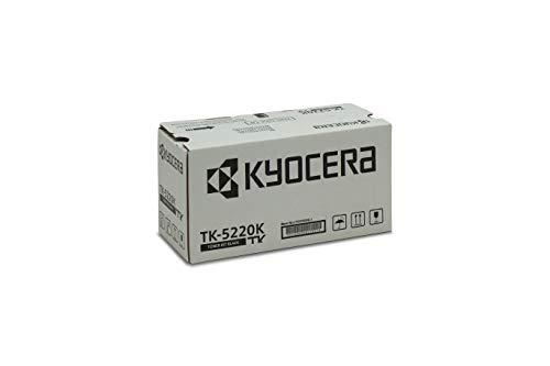 Kyocera TK-5220K Original Tonerkartusche Schwarz 1T02R90NL1. Für ECOSYS M5521cdn, ECOSYS M5521cdw, ECOSYS P5021cdn, ECOSYS P5021cdw. Amazon Dash Replanishment-Kompatibel