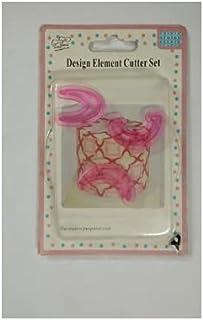 S.Han Plastic 3 Pcs Mini Curve Shape Fondant Mould Cutter Sugarcraft Cake Decorating Tools