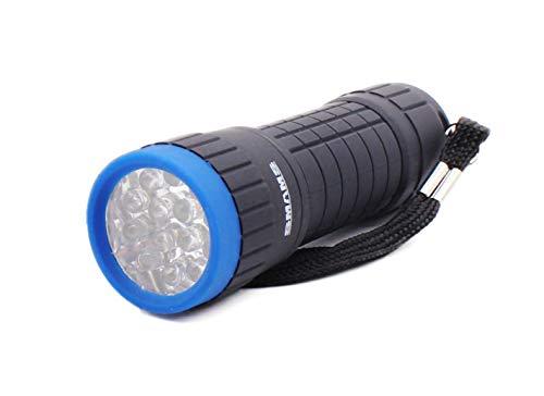 Linterna 14 LED Alta Potencia Mini Linterna de Mano Linternas Flashlight LED para Ciclismo Camping Montañismo incluida 3 AAA Pilas