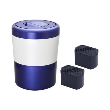 島産業 生ごみ減量乾燥機 パリパリキューブライト ブルーストライプ&脱臭フィルター 2点セット(PCL-31-BWB&PCL-31-AC33)