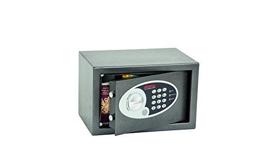 Phoenix Safe Company SS0801E Phoenix SS0801E-Cassetta di Sicurezza Vela per casa e Ufficio, Misura 1, con Serratura Elettronica, Grigio Grafite, XS