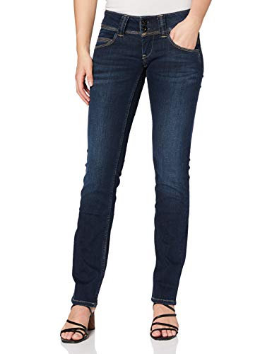 Pepe Jeans Venus Pl200029 Blouson, Azul (10Oz Stretch Ultra Dk H062), 24W/30L para Mujer