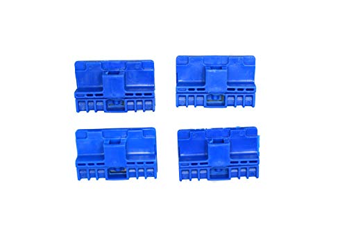 OGHParts Window Regulator Repair Clips Compatible with Audi A6 S6 RS6 A3 Allroad Front & 1998-2011