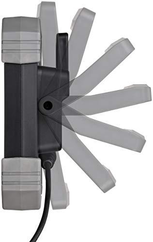 Brennenstuhl Mobiler LED Strahler DINORA 5000 / LED Baustrahler für den ständigen Einsatz im Außenbereich (LED Arbeitsstrahler 47W, 5m Kabel, IP65, bruch- und schlagfestes Kunststoffgehäuse) - 4