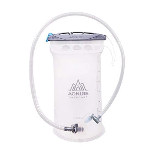 HomeDecTime Bolsa de Vejiga de Agua para Ciclismo Paquetes de Hidratación Almacenamiento - Toma de Agua Horizontal