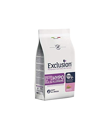 Exclusion - Diet Hypoallergenic Puppy Maiale e Piselli da 12 kg