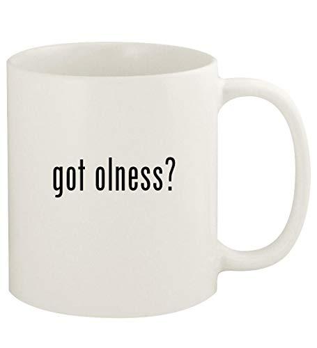 got olness? - 11oz Ceramic White Coffee Mug Cup, White