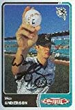 Wes Anderson GCL Marlins - Marlins Affiliate 2003 Topps Total Autographed Card - Minor League Card. This item comes with a certificate of authenticity from Autograph-Sports. Autographed - MLB Autographed Baseball Cards