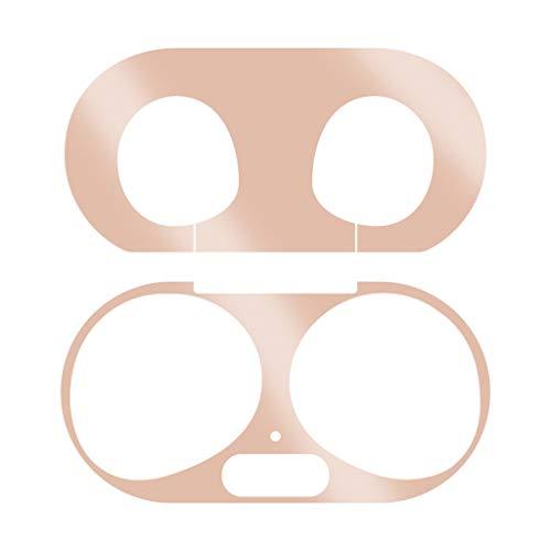 Metall Hülle Schutzhülle Ersatz für Samsung Galaxy Buds Plus Wireless Charging Case, Hülle Bluetooth Kopfhörer Protective Tasche Abdeckung Cover Case Charging Case Schutz (Roségold)