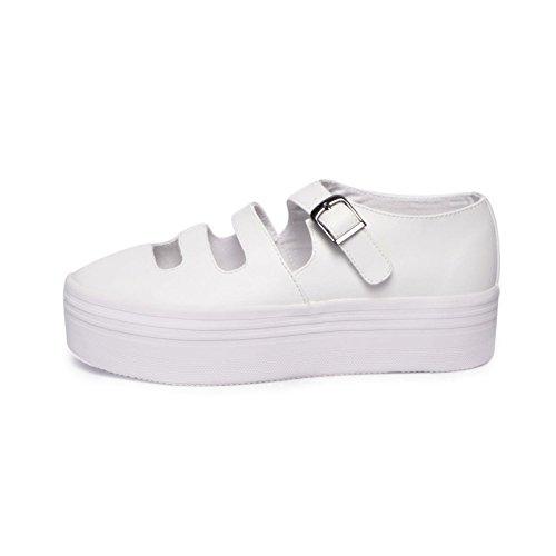 Jeffrey Campbell Sneaker Pelle FORATA Bianca - 41
