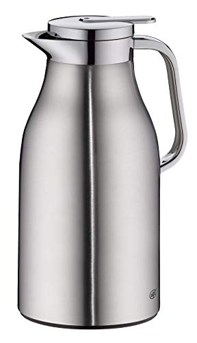 ALFI Skyline Jarra térmica, Cuerpo Inoxidable, Acero Mate, 1,5 litros