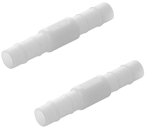 2 x Gerade Schlauchverbinder 90 C Plastik Verbinder 8 Bar (8 mm)