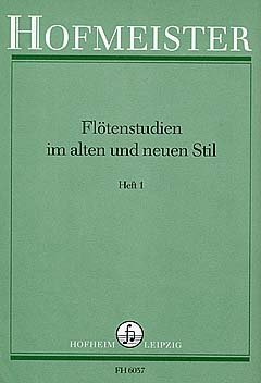 FLOETENSTUDIEN 1 IM ALTEN + NEUEN STIL - arrangiert für Querflöte [Noten/Sheetmusic] Komponist : LIST E