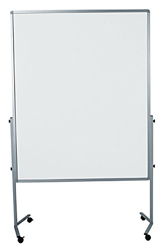 Legamaster 7-204000 Moderationswand Premium mobil 120 x 150 cm, kartonkaschiert, weiß