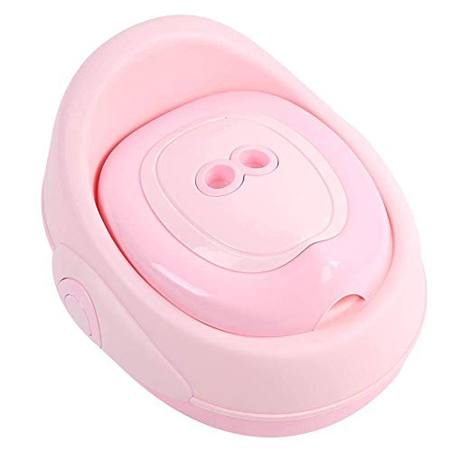 Kinder-tipje toiletbril trainer zit baby zachte toiletstoel voor kinderen toiletten training met, antislip stabiel inklapbaar en verstelbaar voor 1-7 jaar